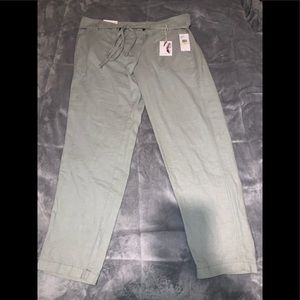 Jessica Simpson skinny linen pants/ brand new tags